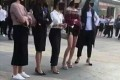 阁主牛评:广西南宁青秀万达商业广场, 几个女白领约打群架